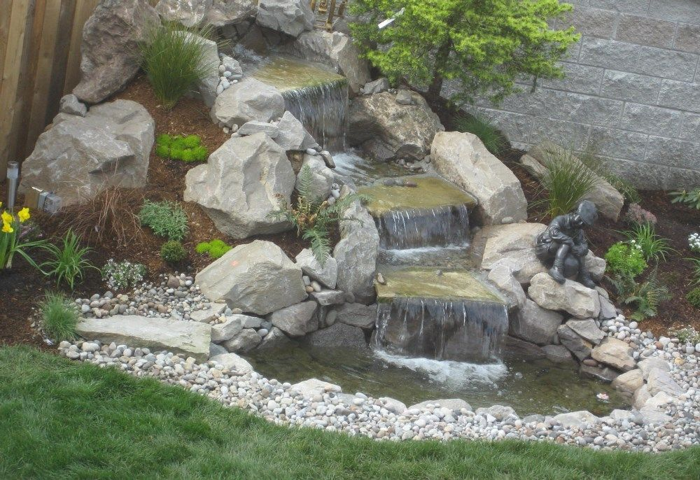 waterfall design ideas home waterfall ideas backyard waterfall - Waterfall Design Ideas