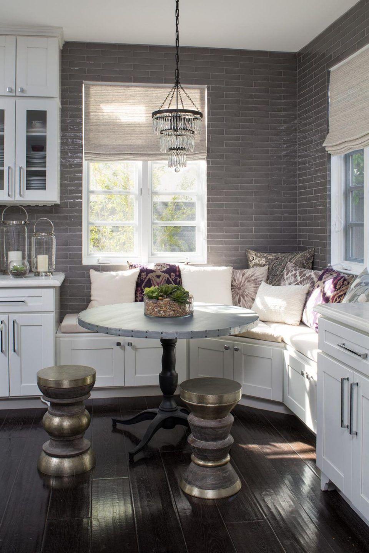 DIY Corner Kitchen Eating Nooks