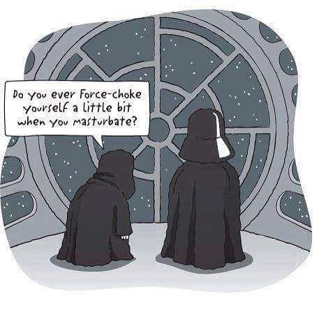 A little bit. ##starwars #nerdhumor
