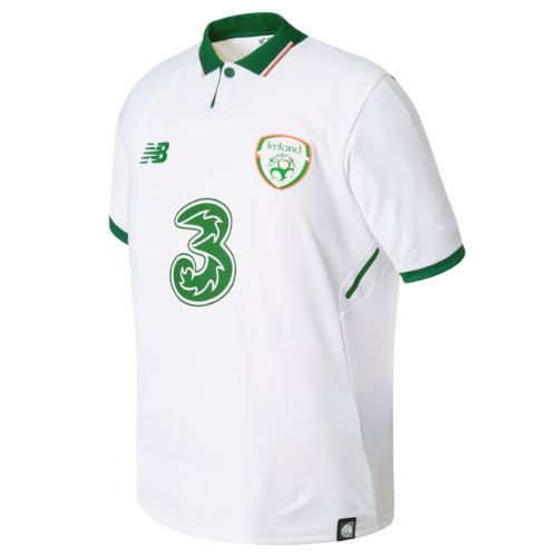 2ff123a4f New Balance 730555 Kids  FA Ireland Junior Away SS Jersey - White  (JT730555WT)