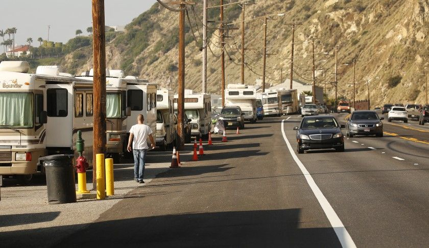 Editorial Of Course Homeless People Can Park On Malibu S Coast Just Not For Weeks At A Time Malibu City Homeless People Malibu Pier