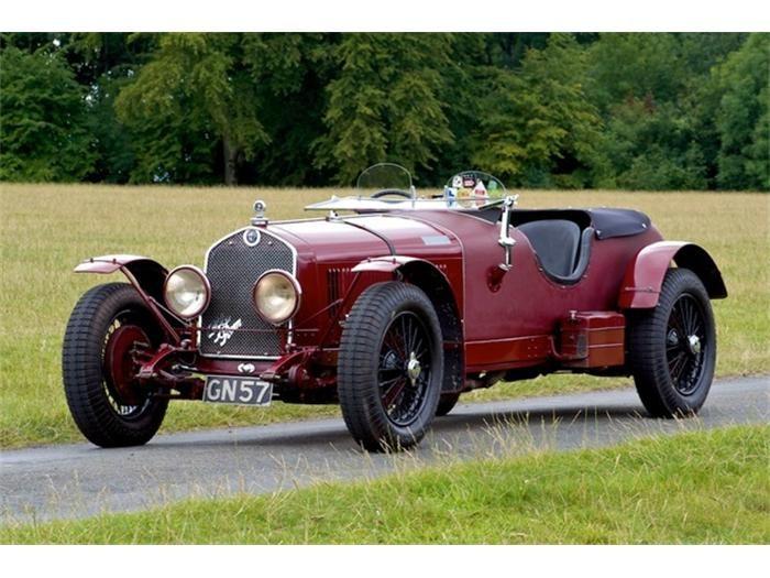 1930 Alfa Romeo Race Car