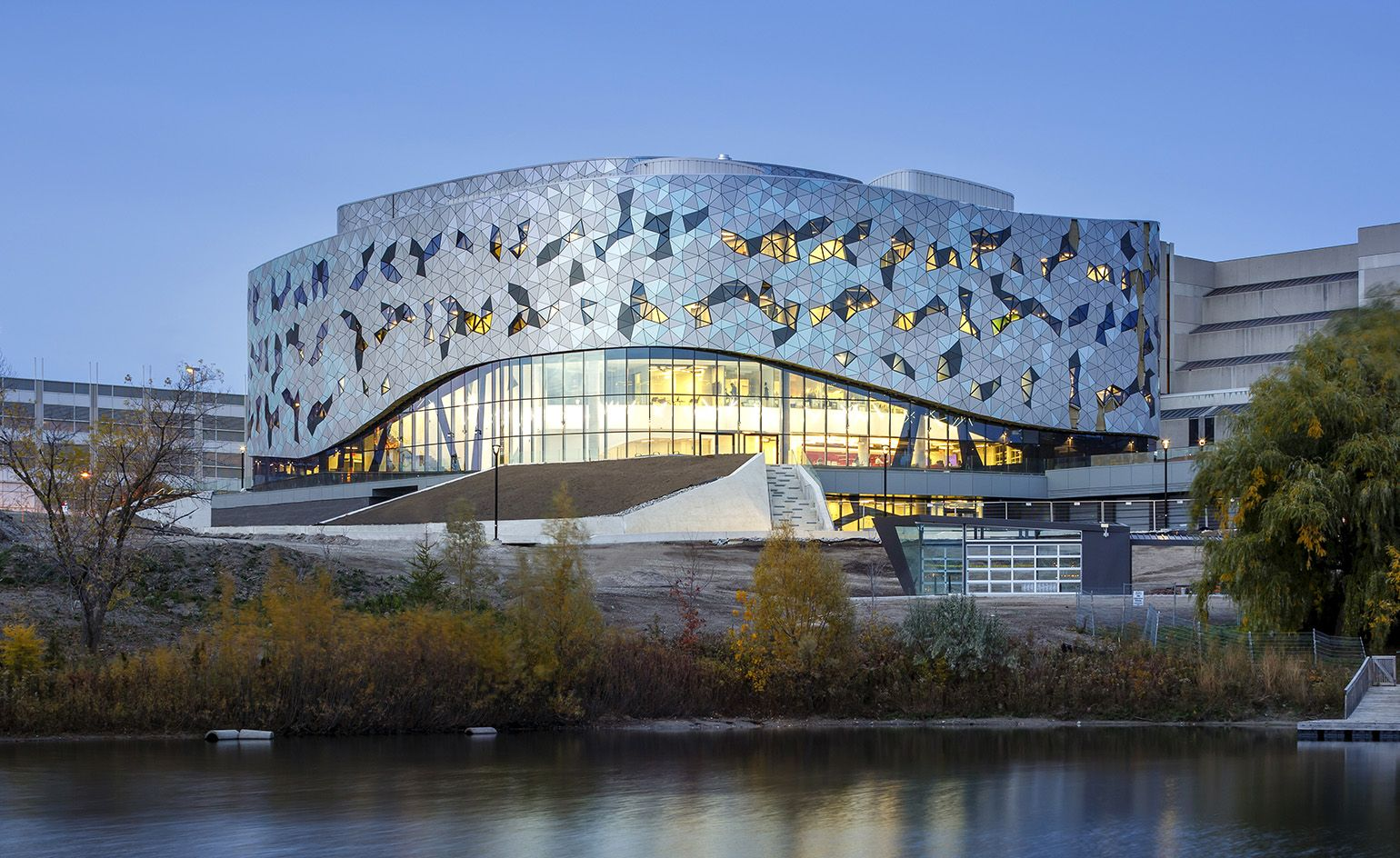 Amazing New School: ZAS Create Non Conformist Design For York University