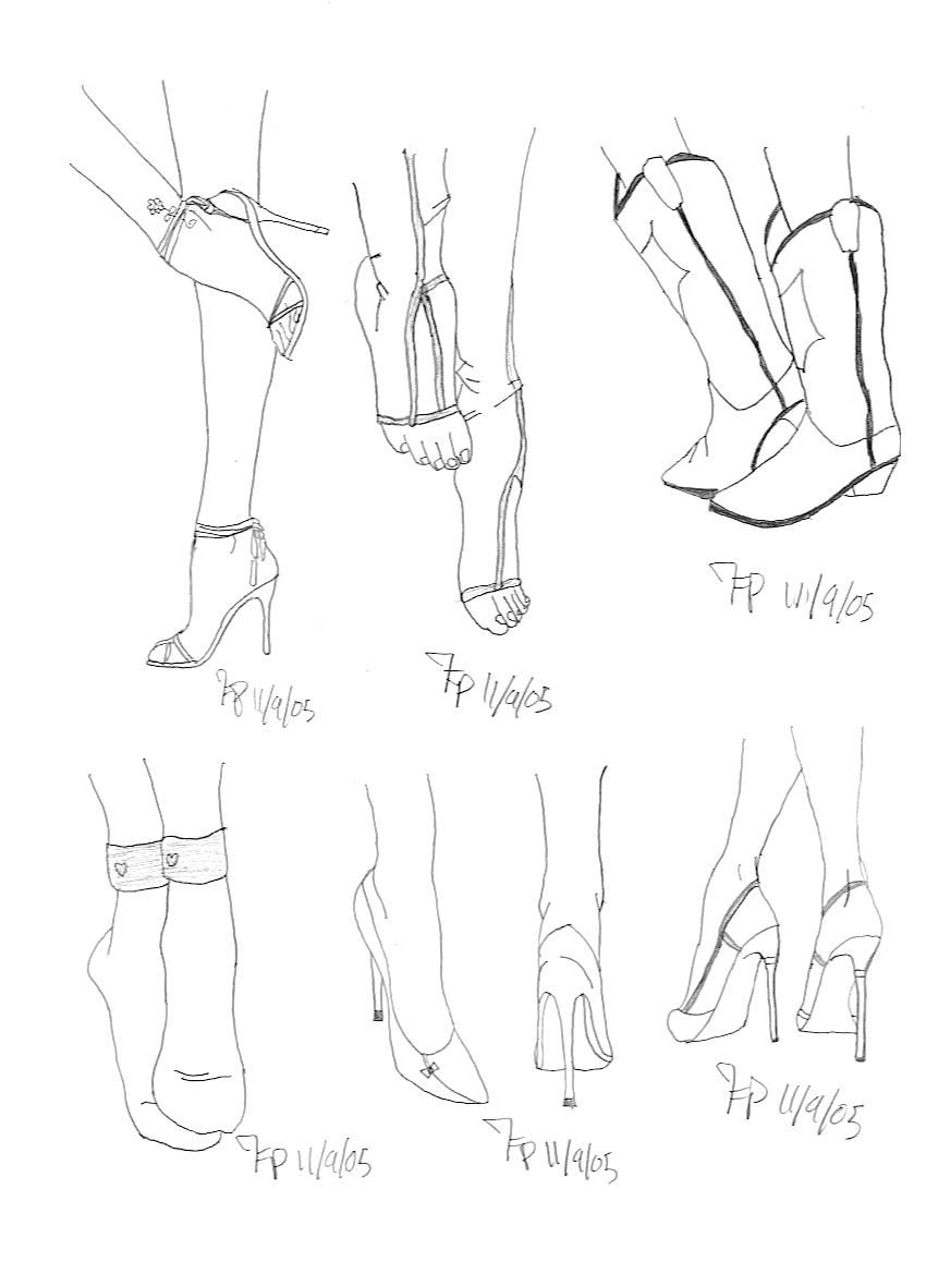 Draw Feet In Shoes  Google Search