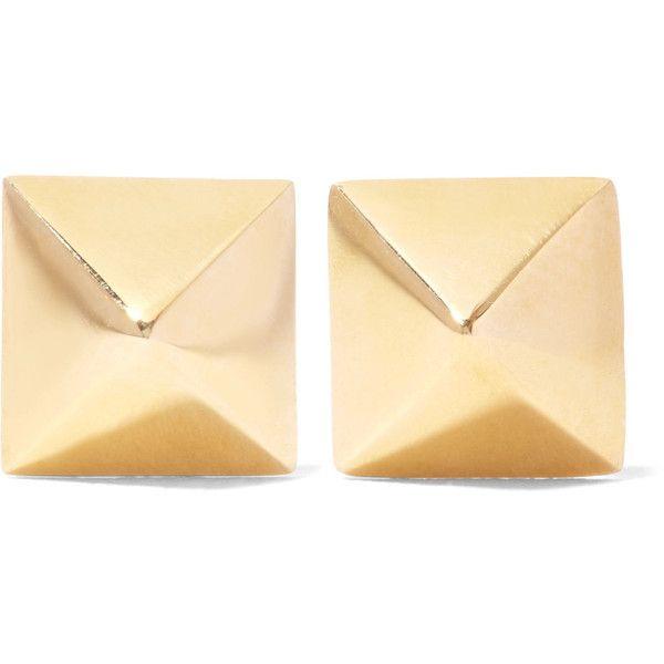 Spike 14-karat Rose Gold Earrings - one size Anita Ko RrhYgN