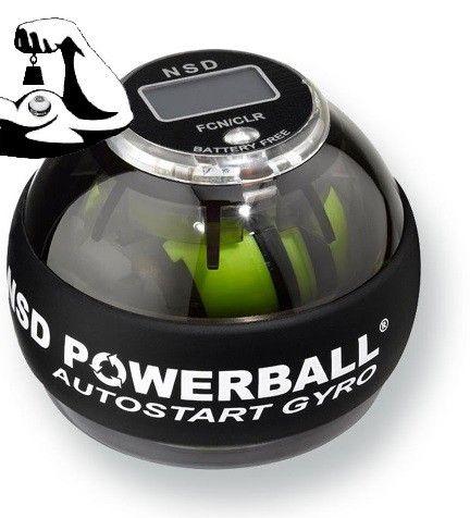 De gloed nieuwe NSD 280Hz Autostart Pro Powerball heeft een onbreekbaar zelfstartend binnenwerk en batterij-vrije toerenteller: Het is de nieuwste Powerball innovatie.  Met één hand te starten.