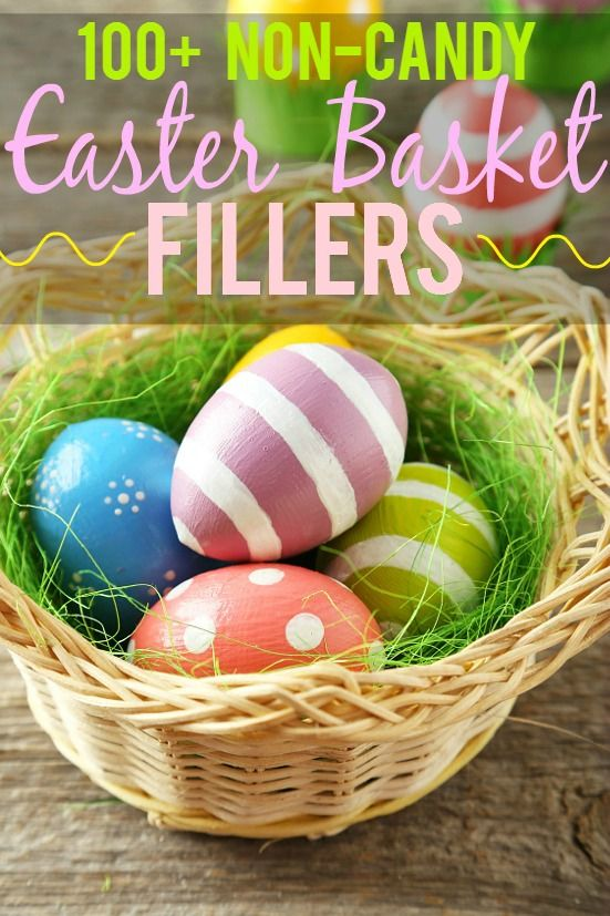 112 non edible easter basket fillers ideas fill the easter baskets 112 non edible easter basket fillers ideas fill the easter baskets with something other than candy this year with these 112 non edible easter basket negle Choice Image