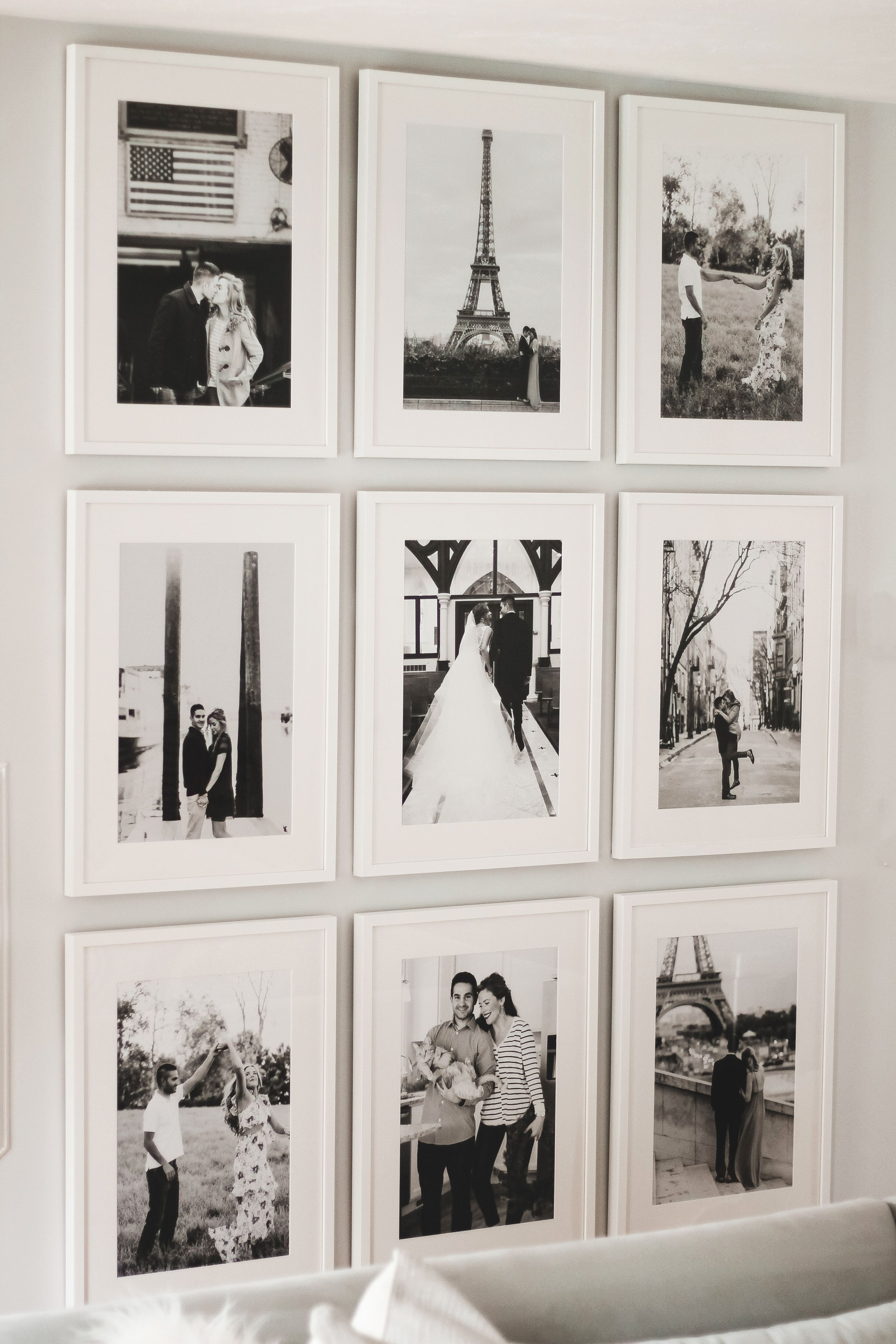 How to Easily Create a Floor to Ceiling Gallery Wall with Framebridge
