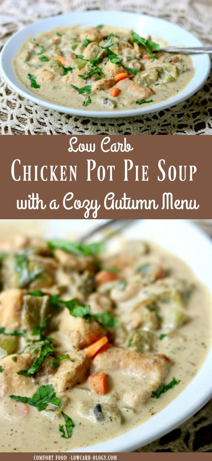 Chicken pot pie soup is creamy low carb comfort food that will warm chicken pot pie soup is creamy low carb comfort food that will warm your soul anytime forumfinder Images