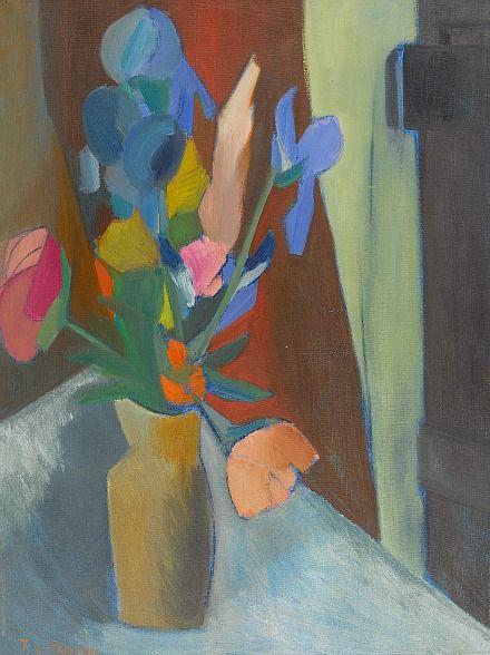 Still life with iriss: Janine von...