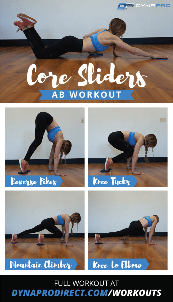Core Sliders Ab Workout