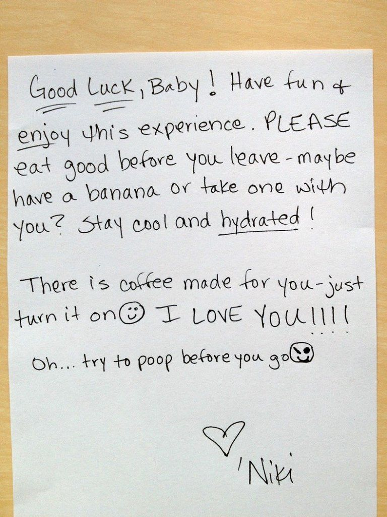 Love Notes That Show What Marriage Is Really Like  Note And