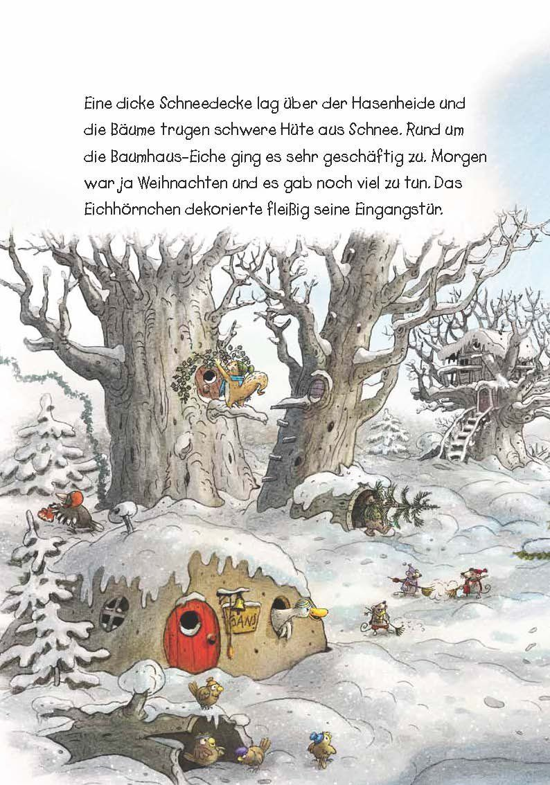 hase und holunderbär  das wunderbare weihnachtsfest