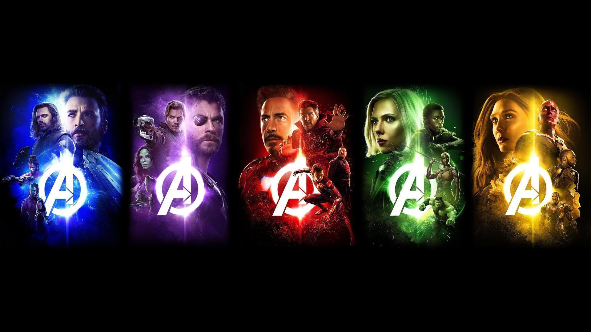 1920x1080 Avengers Infinity War Characters Desktop Wallpaper Best Hd
