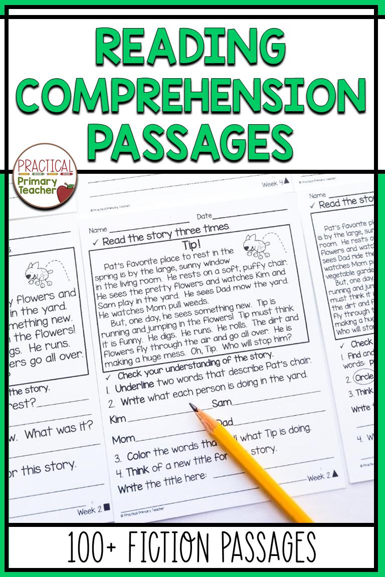 Reading Comprehension Worksheets Reading Passages Reading Comprehension Practice Reading Comprehension Worksheets [ 1152 x 768 Pixel ]