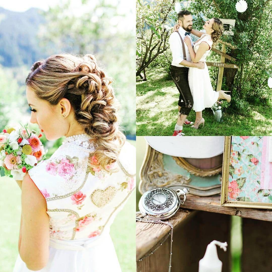 Ein traumhaftes Brautdirndl mit liebe zum Detail von Tian van ...