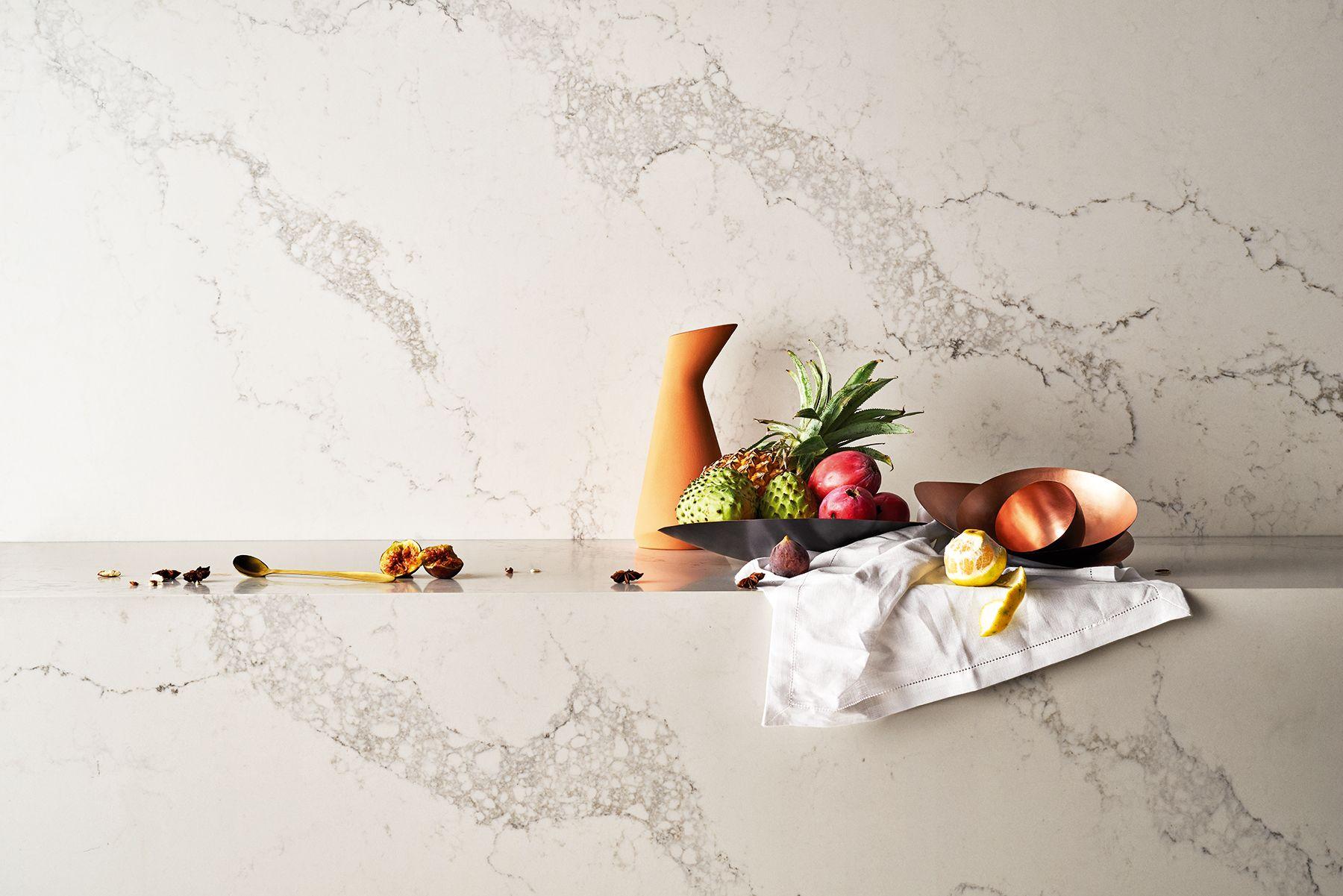 caesarstone introduces 8 marble inspired designs | warmherzig, Badezimmer ideen