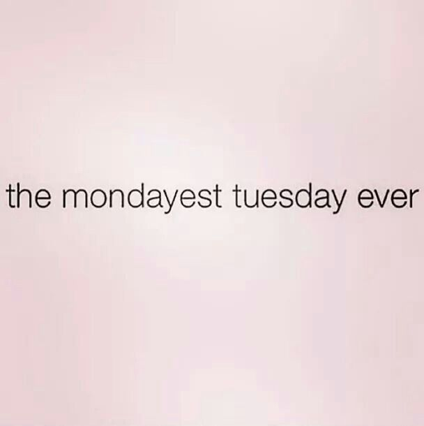 Any Tuesday after a holiday