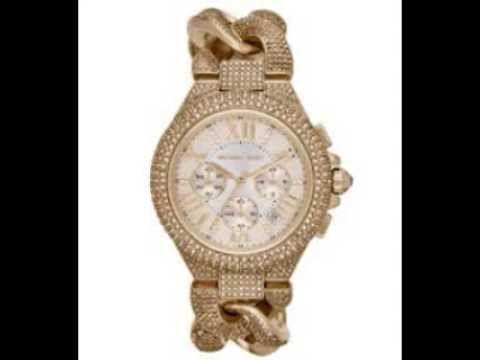 Michael Kors أجمل الساعات النسائية من المصمم العالمي مايكل كورس Rose Gold Watch Gold Watch Bling