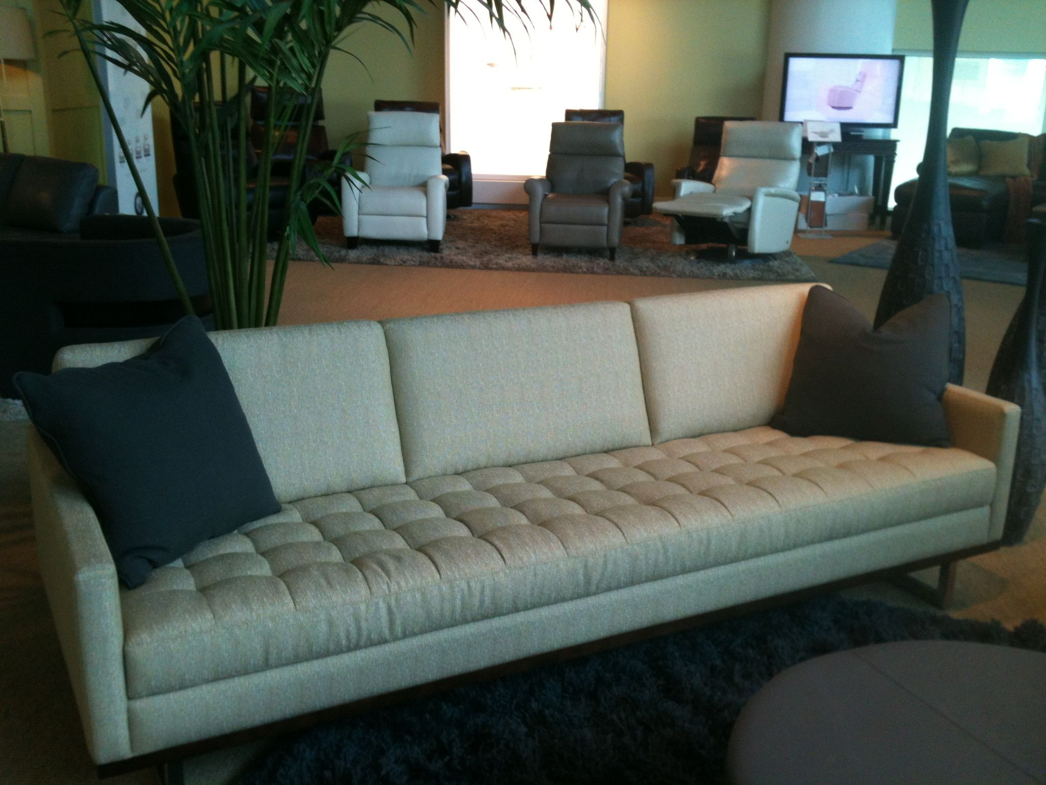 The Tristan sofa from American Leather