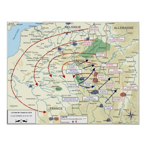 Schlieffen plan map wwi world war one germany poster war poster schlieffen plan map wwi world war one germany poster war poster pinterest wwi gumiabroncs Images