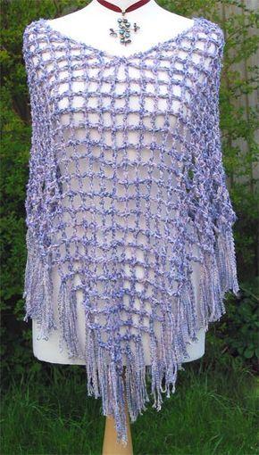 Crochet Ponchos Patterns Free Only Easy Crochet Poncho Patterns