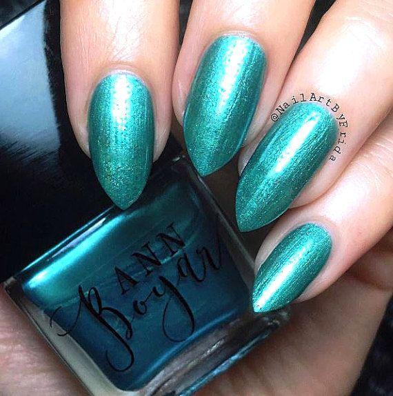 MODERN MINT - Mint Nail Polish, Green Nail Polish, Nail Lacquer ...