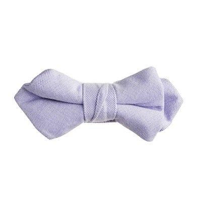 jcrew sun-faded oxford bow tie