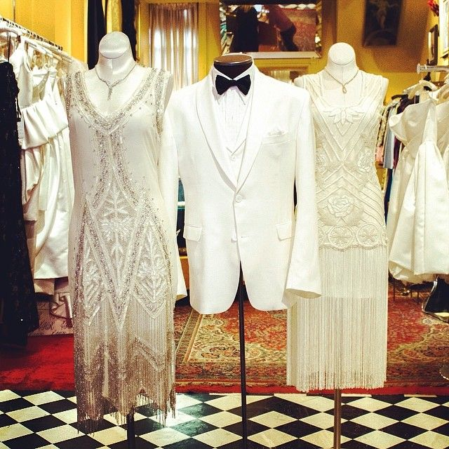 Vintage Wedding Dresses Miami: Evening Wear At Cabaret Vintage! 1920s Style Flapper