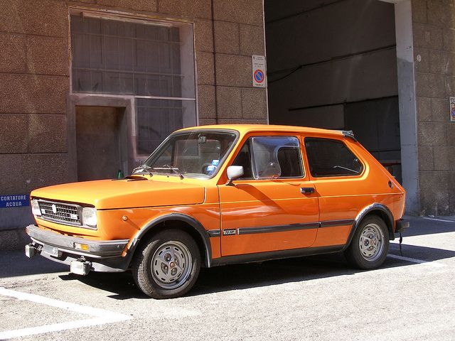 Fiat 127 Sport 70hp Fiat Cool Old Cars Classic Cars