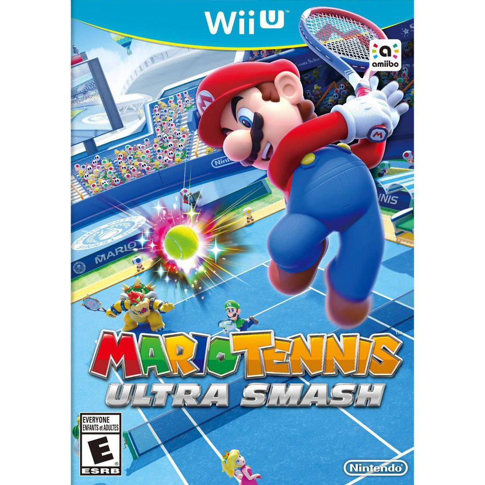 Mario Tennis Ultra Smash (Wii U, 2015) New Low Price