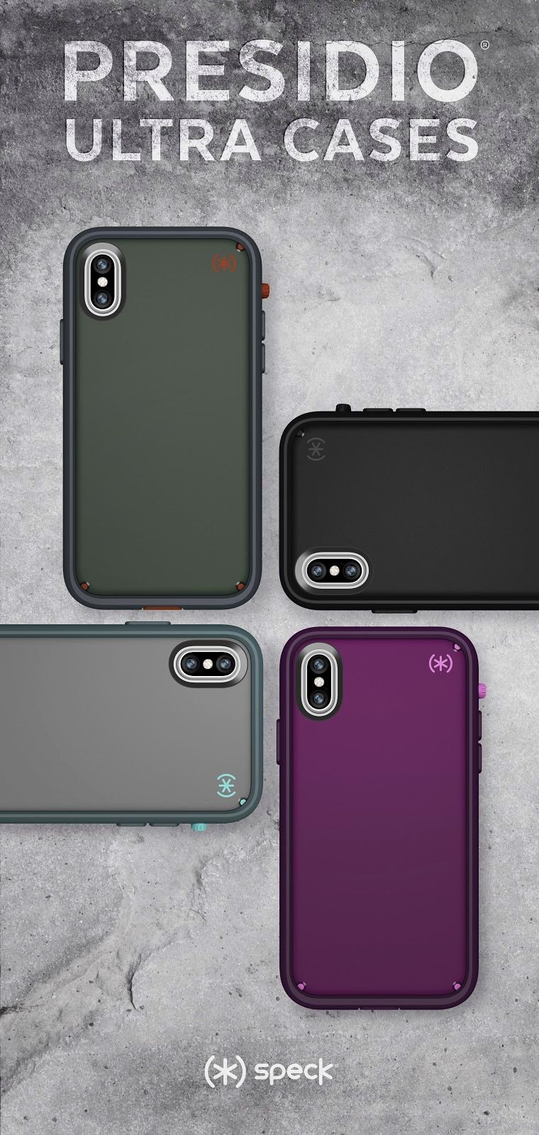 Presidio Ultra iPhone X cases. The ultimate dirt fc342c05cd