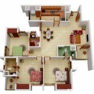 تصاميم فلل صغيرة من الداخل Model House Plan House Floor Design Architectural House Plans