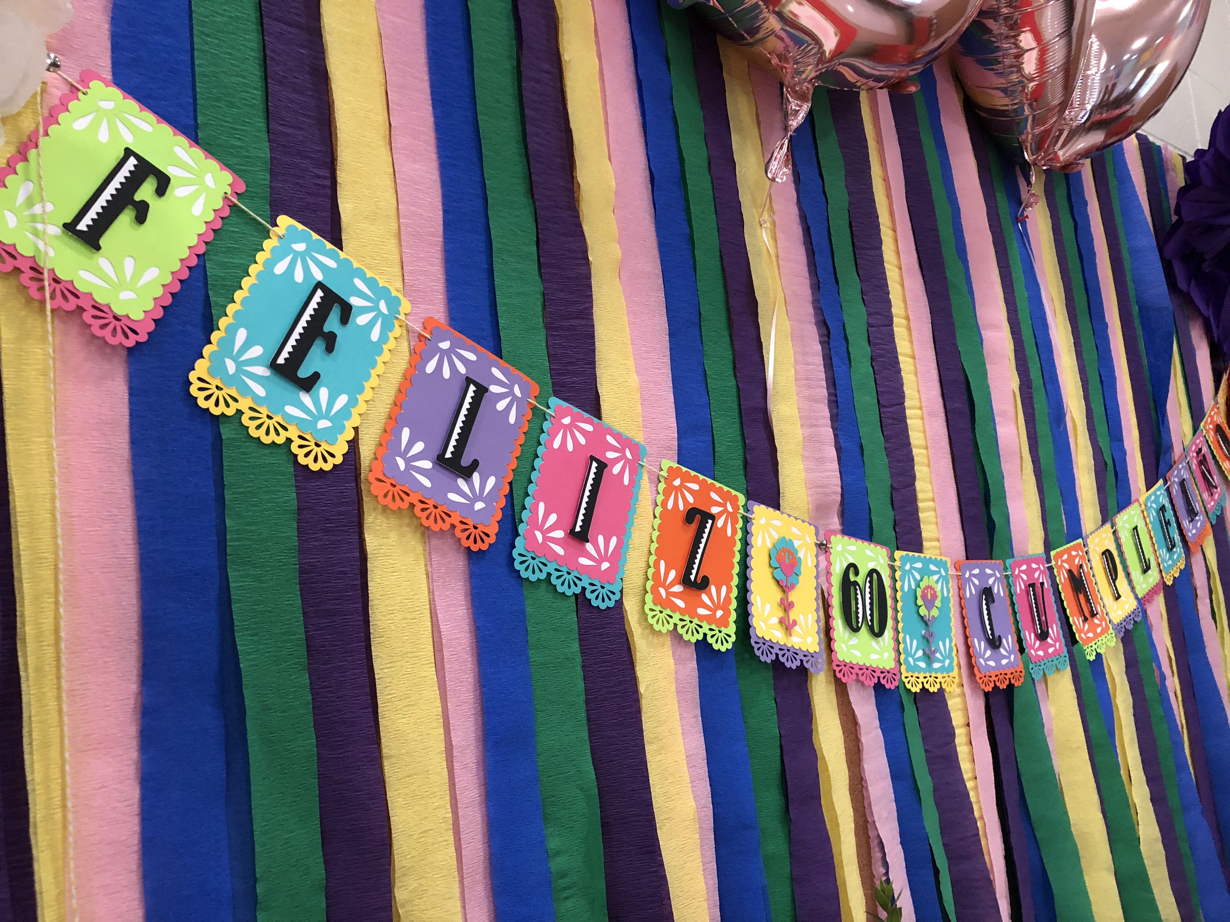 mexican theme birthday banner using cricut images fiesta banner