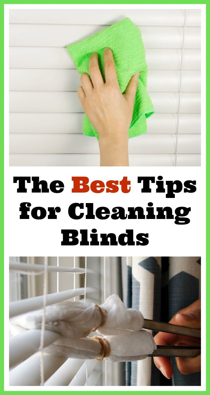 Tips For How To Clean Your Window Blinds Clean Blinds