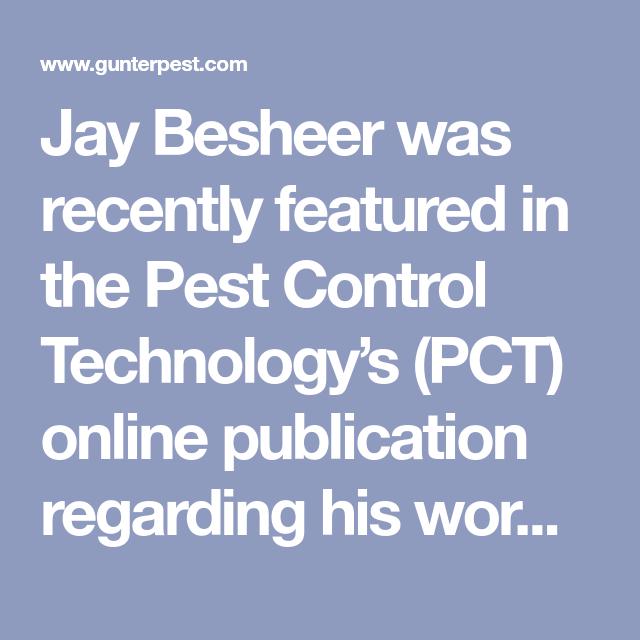 Pest Control Technology S Online Publication Online Publications Pest Control Public