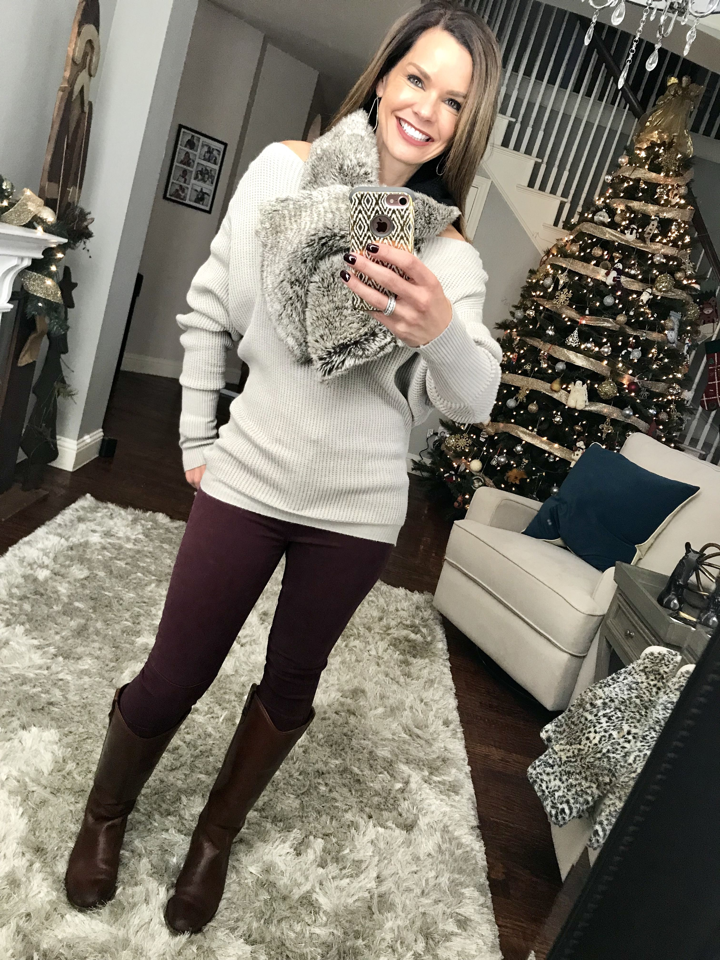 Three Casual Christmas Outfits from Your Closet