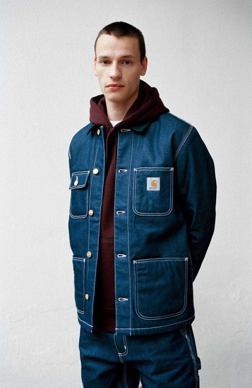 Lookbook Carhartt Wip Jesien Zima 2017 Carhartt Jacket Work Jackets Mens Work Jacket [ 1536 x 1000 Pixel ]
