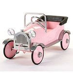 If only this adorable pink toy car came in real world size, it would make for the most darling Model T of all time! :) #vintage #toys #pink #cars