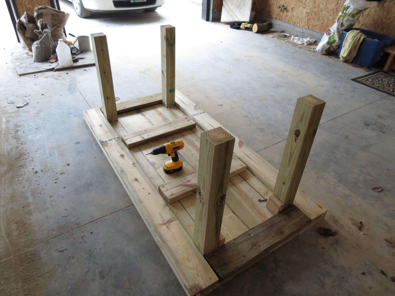 DIY 2X4 Patio Furniture on the image for additional