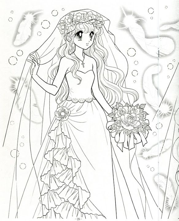 japanese princess coloring pages - photo#44
