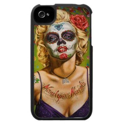 Marilyn Muerta Iphone 4 Covers