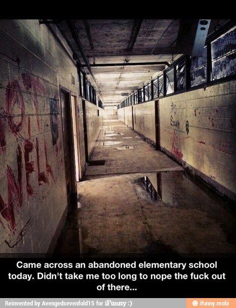 Abandoned elementary school / iFunny :)