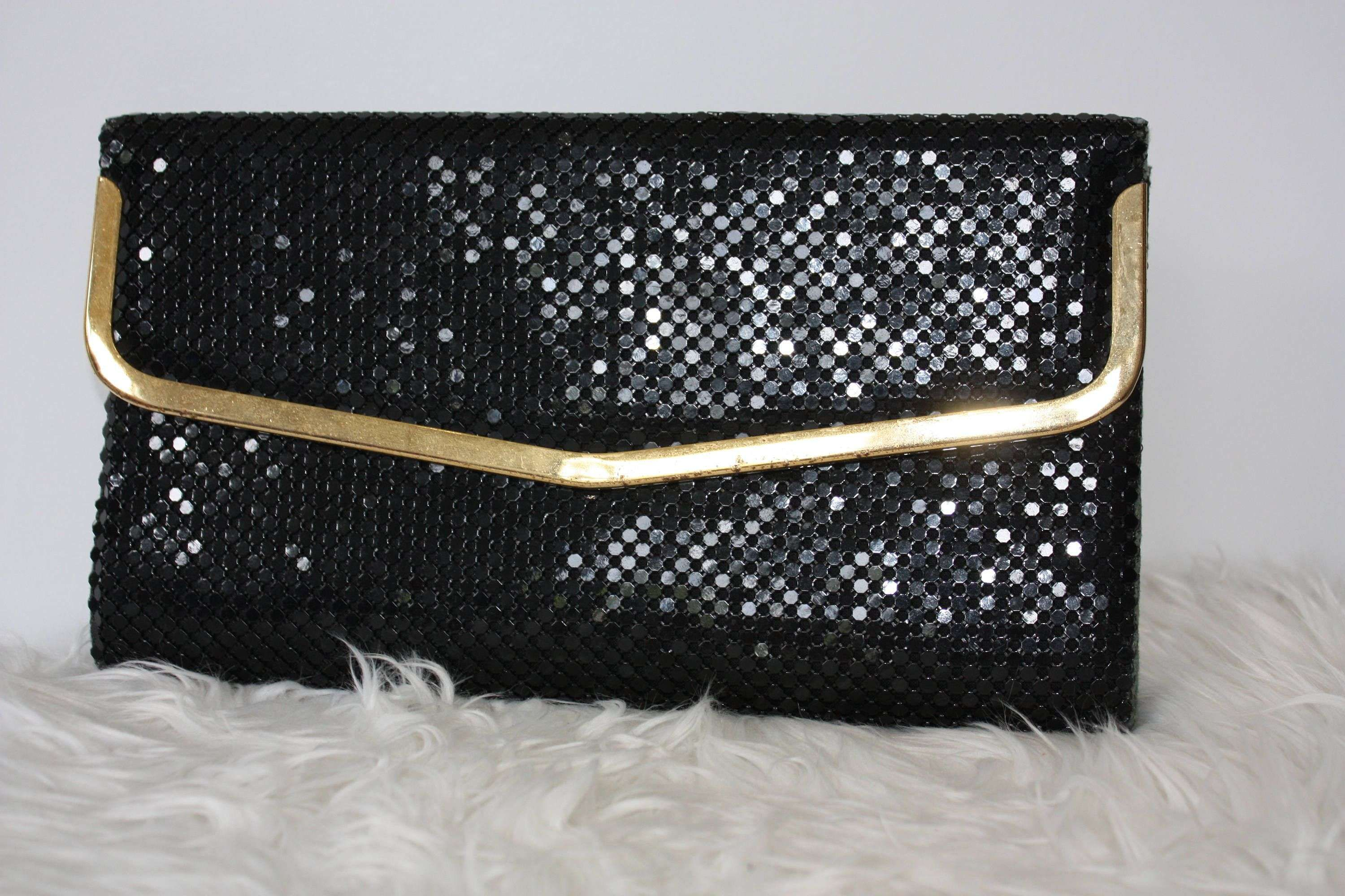 1e9542defba Awesome Black Leather Clutch Bag evening | DIY | Clutch bag, Leather ...