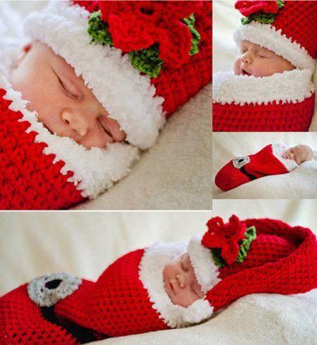 Cute Christmas Crochet Cocoon Patterns | Kokon, Häkelarbeiten und Sankt