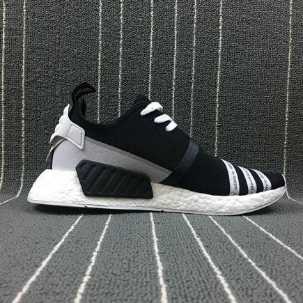 6d3254569 2018 Where To Buy Fashion Popular White Mountaineering x Adidas NMd R2 PK  Black White CG3648 Shoe