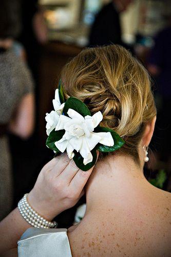 Details Hair Gardenia Wedding Pink Peonies Wedding Pink Wedding Flowers