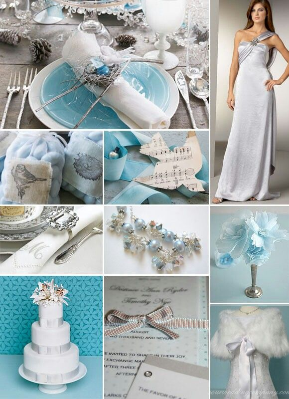Teal And Silver Wedding Theme Weddingengagement Ideas