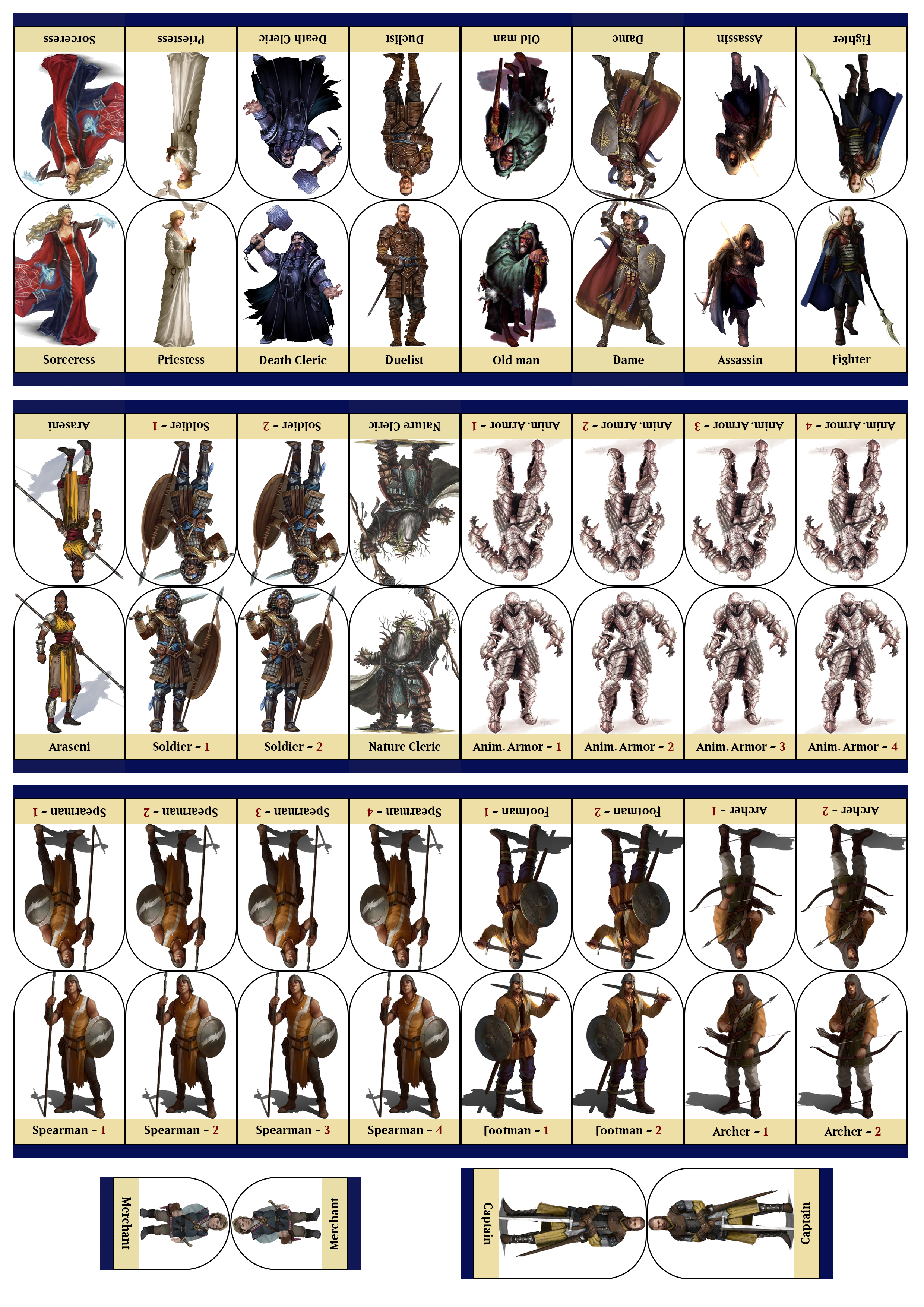 It is a graphic of Unusual D&d Tokens Printable