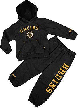 size 40 d43ea 7e7a9 Reebok Boston Bruins Kids Fleece Hoodie & Pant Set | Hockey ...